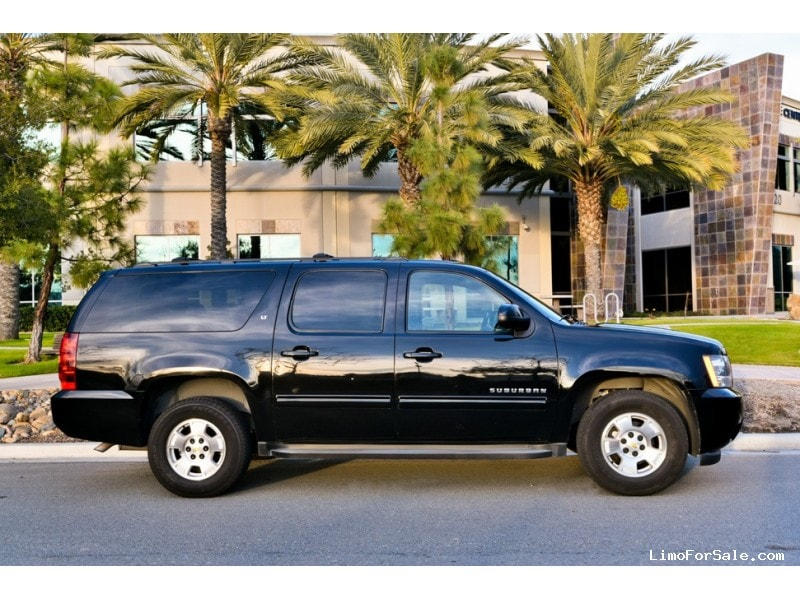used 2012 chevrolet suburban suv limo san diego california 18 000 limo for sale. Black Bedroom Furniture Sets. Home Design Ideas