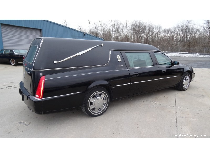 Used 2006 Cadillac DTS Funeral Hearse Accubuilt Plymouth