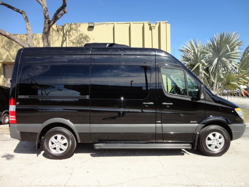 Used 2013 mercedes benz sprinter van shuttle tour for Mercedes benz of delray used