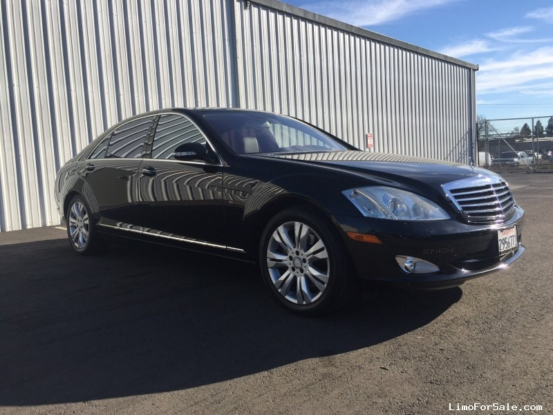 Used 2008 mercedes benz c class sedan limo sonoma for Mercedes benz limo for sale