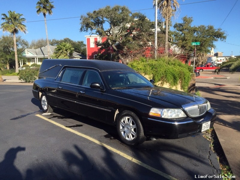 Used 2006 Lincoln Town Car Funeral Hearse Krystal