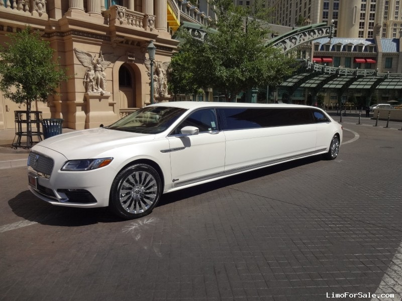 Limos For Sale >> New 2017 Lincoln Continental Sedan Stretch Limo Specialty ...