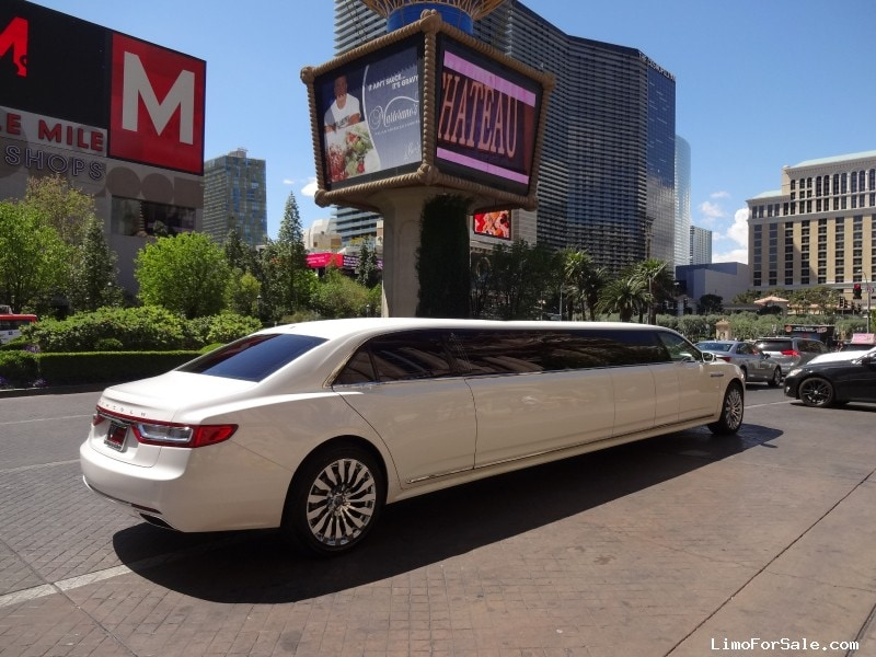 New 2017 Lincoln Continental Sedan Stretch Limo Specialty