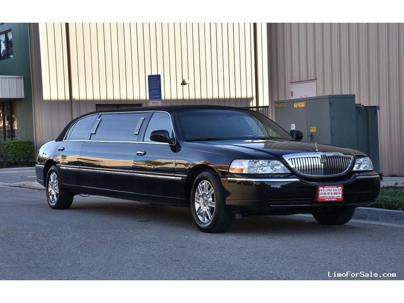 used 2008 lincoln town car sedan stretch limo krystal fontana california 9 995 limo for sale. Black Bedroom Furniture Sets. Home Design Ideas