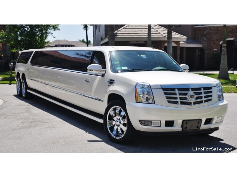 used 2007 cadillac escalade suv stretch limo coral springs florida 23 700 limo for sale. Black Bedroom Furniture Sets. Home Design Ideas