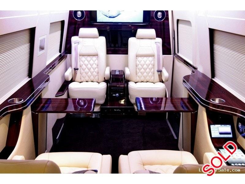 Used 2012 Mercedes Benz Sprinter Van Limo HQ Custom Design