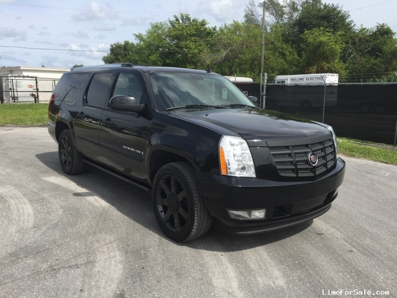 Used 2007 Cadillac Escalade Esv Suv Limo West Palm Beach Florida
