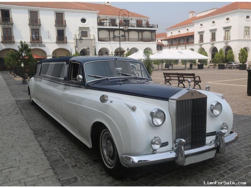 Vintage rolls royce limo