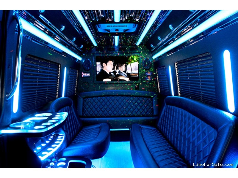 New 2016 Mercedes-Benz Sprinter Van Limo Tiffany Coachworks - Perris, California - $89,900