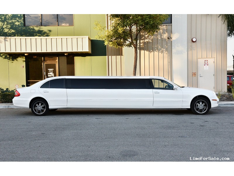 Used 2007 mercedes benz e class sedan stretch limo nova for Mercedes benz fontana ca