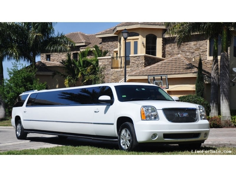 used 2005 cadillac escalade suv stretch limo port saint lucie florida 19 400 limo for sale. Black Bedroom Furniture Sets. Home Design Ideas