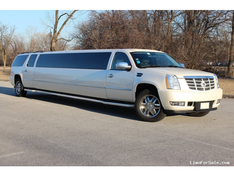 used 2007 cadillac escalade esv suv stretch limo pinnacle limousine manufacturing northbrook. Black Bedroom Furniture Sets. Home Design Ideas