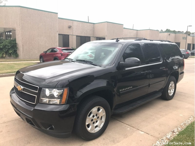 used 2012 chevrolet suburban suv limo houston texas 19 995 limo for sale. Black Bedroom Furniture Sets. Home Design Ideas
