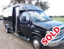 2014, Ford E-350, Mini Bus Shuttle / Tour, Turtle Top