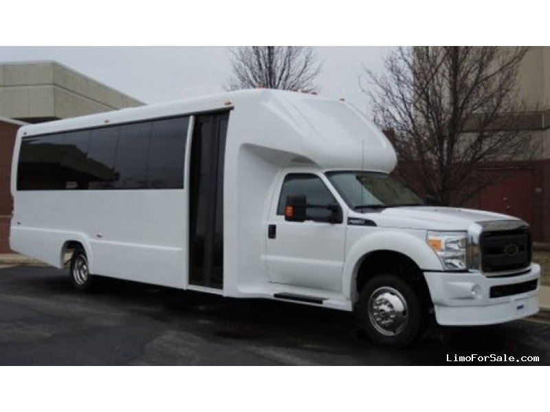 Used 2015 Ford F-550 Mini Bus Shuttle / Tour Executive Coach Builders - Palatine, Illinois - $90,000