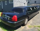 2007, Lincoln Town Car, Sedan Stretch Limo, Royal Coach Builders