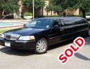 2009, Lincoln MKZ, Sedan Stretch Limo, Executive Coach Builders