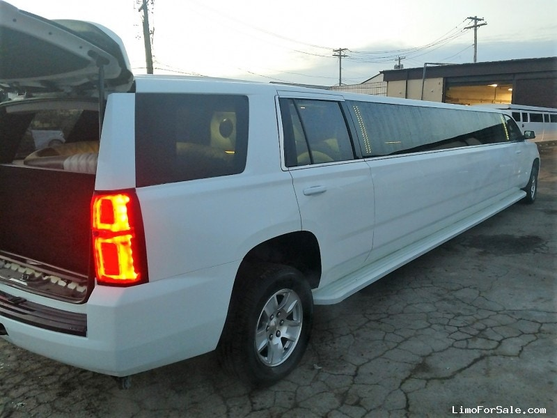 used 2016 chevrolet tahoe suv stretch limo north east pennsylvania 95 900 limo for sale. Black Bedroom Furniture Sets. Home Design Ideas