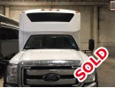 2014, Ford F-550, Mini Bus Shuttle / Tour, Turtle Top