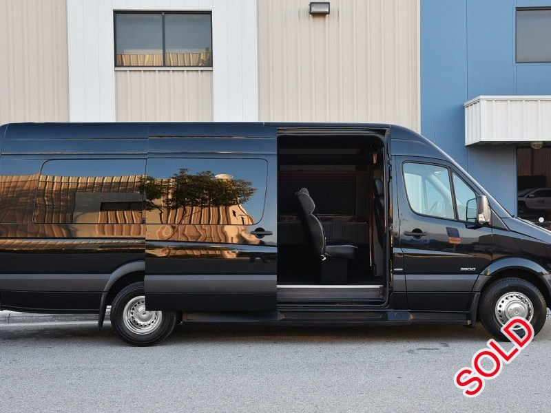Mercedes Tour Van >> Used 2014 Mercedes Benz Van Shuttle Tour Executive Coach Builders Fontana California 48 995