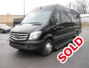 2014, Mercedes-Benz, Mini Bus Shuttle / Tour, First Class Coachworks