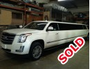 Used 2015 Cadillac Escalade ESV SUV Stretch Limo Quality Coachworks - Smithtown, New York    - $88,500