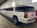 Used 2016 Cadillac Escalade ESV SUV Stretch Limo Pinnacle Limousine Manufacturing - Livonia, Michigan - $79,895