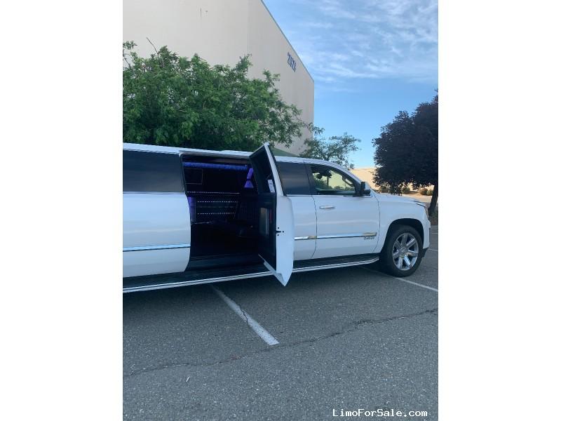 Used 2016 Cadillac Escalade ESV SUV Stretch Limo Pinnacle Limousine Manufacturing - Sacramento, California - $85,000