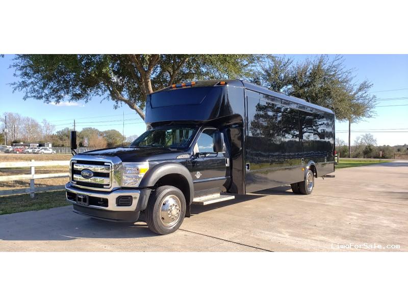 Used 2015 Ford F-550 Mini Bus Shuttle / Tour Glaval Bus - Cypress, Texas - $45,000