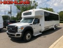 2016, Ford F-550, Mini Bus Shuttle / Tour