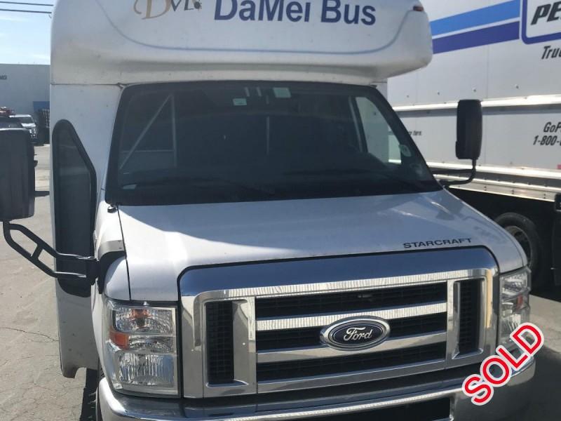 Used 2015 Ford E-450 Mini Bus Shuttle / Tour Starcraft Bus - Anaheim, California - $10,000