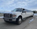 2009, Ford F-550, SUV Stretch Limo, Executive Coach Builders