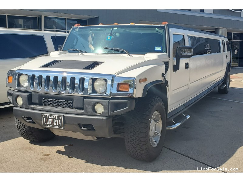 Used 2005 Hummer H2 SUV Stretch Limo  - DALLAS, Texas - $28,000