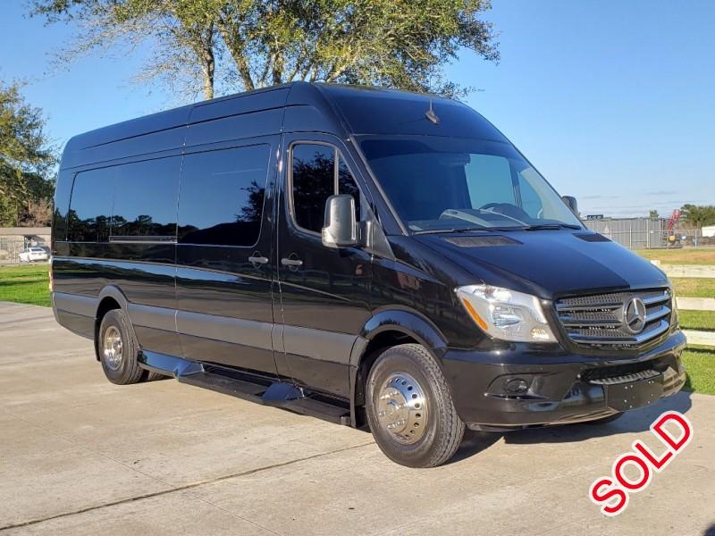 Used 2018 Mercedes-Benz Sprinter Van Limo LGE Coachworks - Cypress, Texas - $77,500