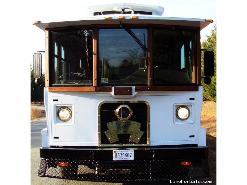 Used 1997 Boyertown Trolley Trolley Car Limo  - Oilville, Virginia - $49,900
