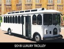 2018, Ford F53 Class A Chassis, Trolley Car Limo, Specialty Conversions
