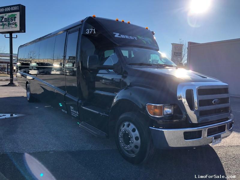 Used 2013 Ford F-650 Mini Bus Shuttle / Tour Grech Motors - Glen Burnie, Maryland - $49,500