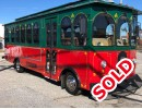 2004, Ford F53 Class A Chassis, Mini Trolley, Supreme Corporation