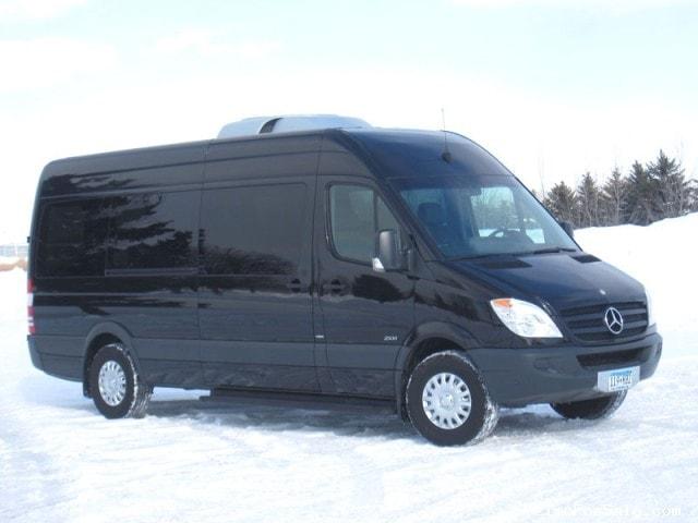 Used 2012 mercedes benz sprinter van shuttle tour st for Mercedes benz vans for sale used