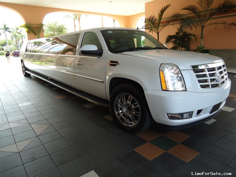 used 2008 cadillac escalade suv stretch limo miami florida 43 000 limo for sale. Black Bedroom Furniture Sets. Home Design Ideas
