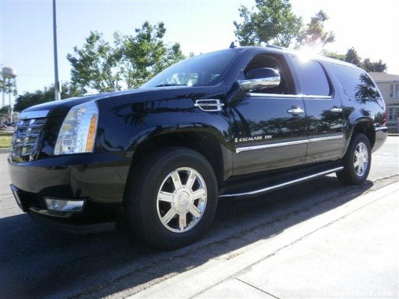 Used 2008 Cadillac Escalade ESV SUV Limo American Limousine Sales ...
