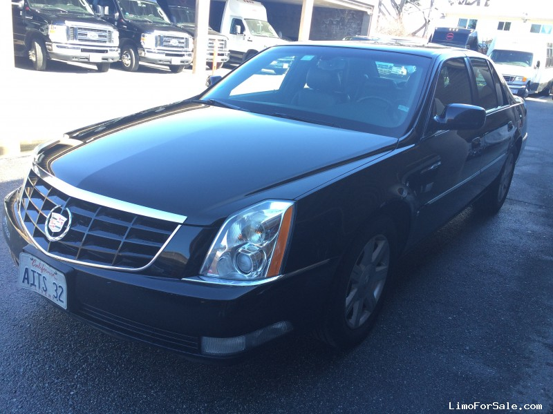 used 2007 cadillac dts sedan limo monterey california 7 500 limo for sale. Black Bedroom Furniture Sets. Home Design Ideas