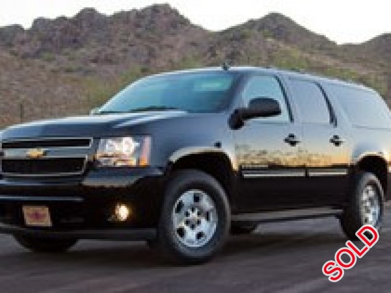 used 2009 chevrolet suburban suv limo phoenix arizona. Black Bedroom Furniture Sets. Home Design Ideas