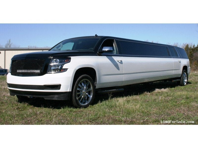 new 2015 chevrolet suburban suv stretch limo springfield springfield missouri 99 999. Black Bedroom Furniture Sets. Home Design Ideas