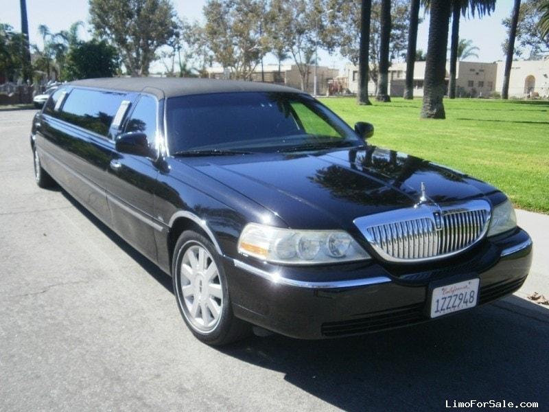 used 2007 lincoln town car sedan stretch limo krystal los angeles california 21 995 limo. Black Bedroom Furniture Sets. Home Design Ideas