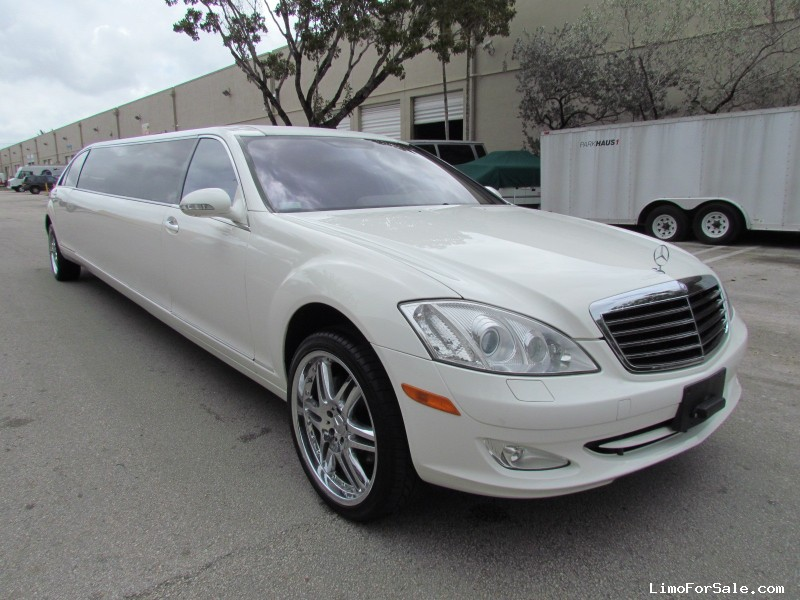 new 2008 mercedes benz s class sedan stretch limo lime