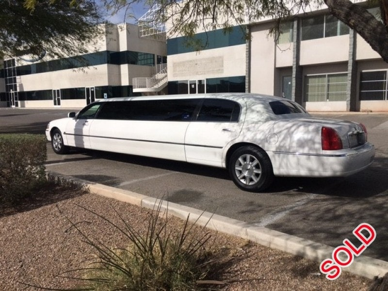 Used 2008 Lincoln Town Car Sedan Stretch Limo Tiffany Coachworks - Las Vegas, Nevada - $8,990