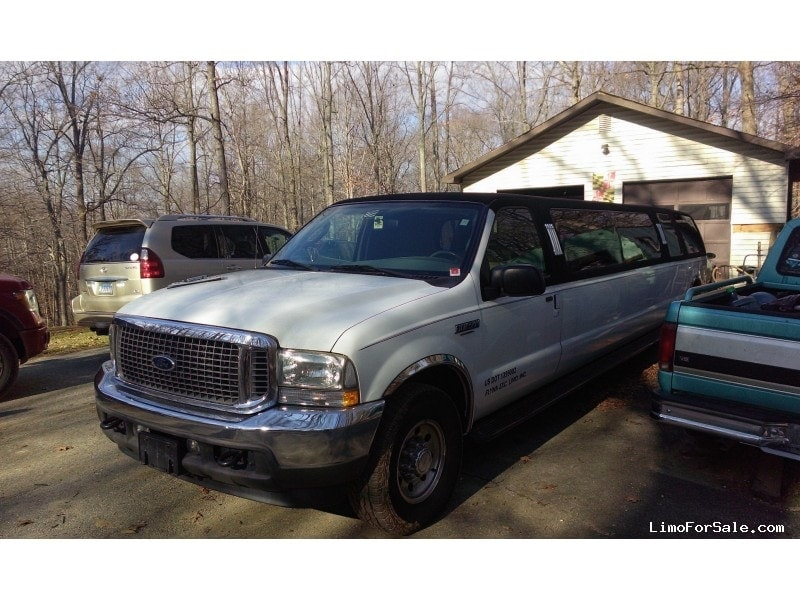 Used 2004 Ford Excursion Suv Stretch Limo Krystal Upper