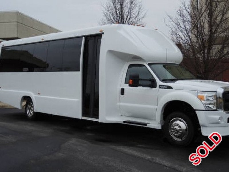New 2015 Ford F-550 Mini Bus Shuttle / Tour Executive Coach Builders - Kankakee, Illinois - $94,950