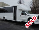 2015, Ford F-550, Mini Bus Shuttle / Tour, Executive Coach Builders